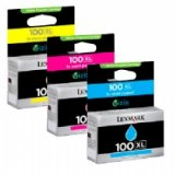 Lexmark Ink Cartridge 100 Print cartridge Multipack cyan yellow magenta
